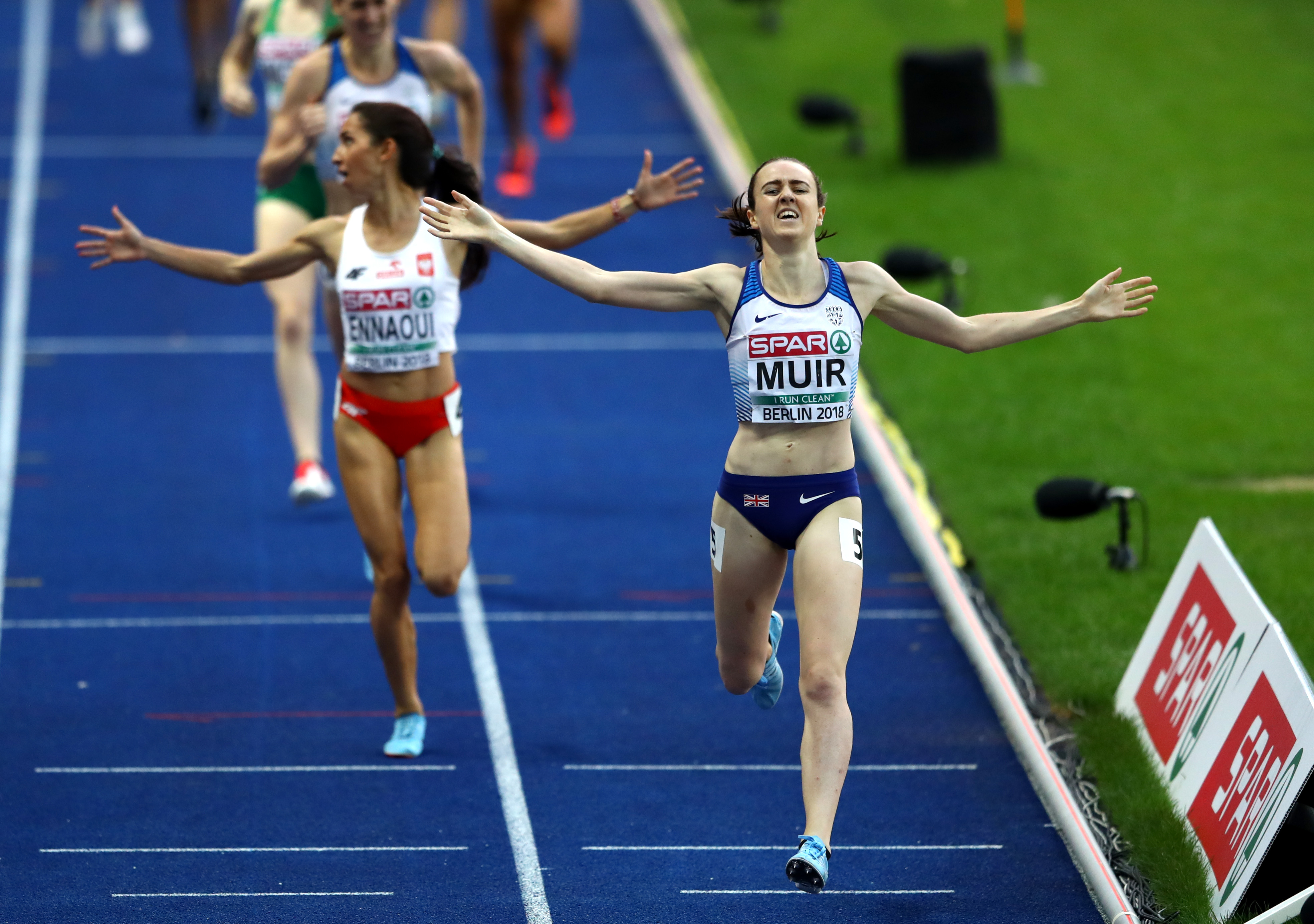 Laura Muir tops of Glasgow 2018 European Championships with 1500m gold