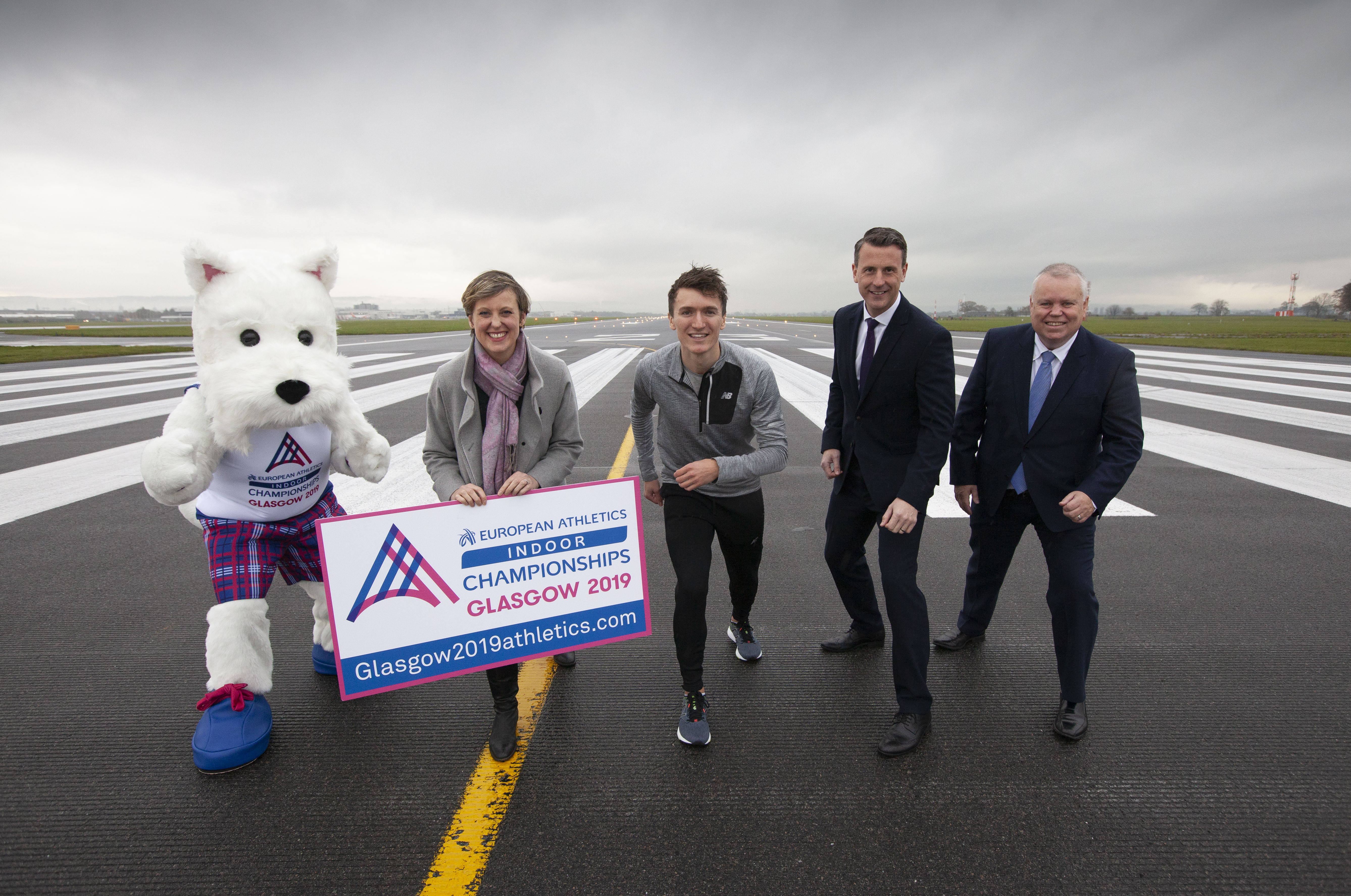 Glasgow International Airport lands partnership with European Athletics Indoor Championships Glasgow 2019