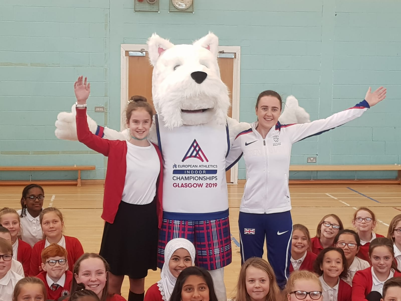 'Scottee' the Scottie dog revealed as official mascot for Glasgow 2019