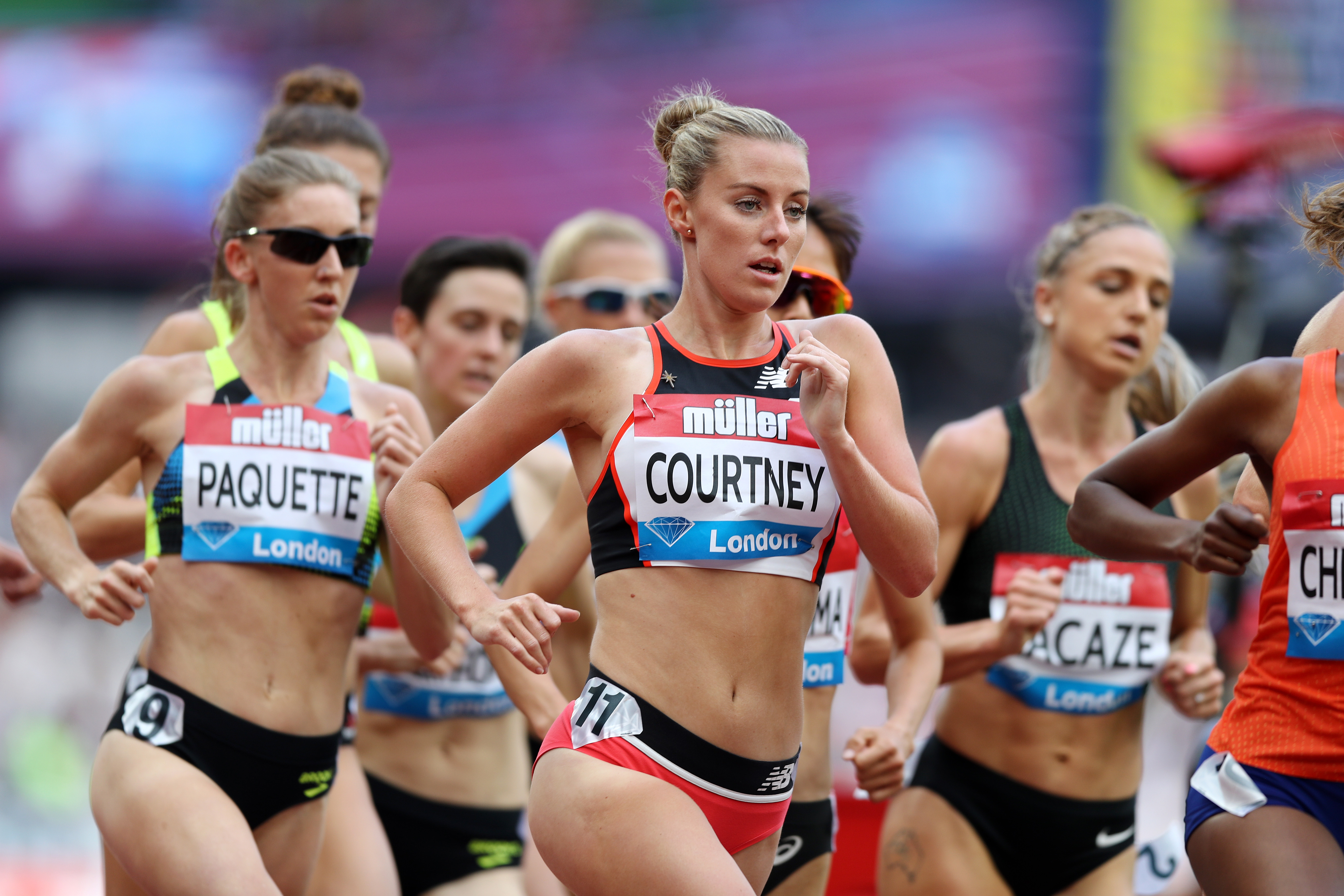 Courtney makes it count ahead of Glasgow 2019